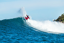 Filipe Toledo (BBRA) advances to the Quarterfinals of the 2018 Corona Open J-Bay after winning Heat 3 of Round 4 at Supertubes, Jeffreys Bay, South Africa.