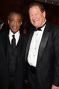 """15 November 2010- New York, NY- l to r: Rev. Al Sharpton and Ed Schultz at The National Action Network's 1st Annual Triumph Awards honoring """"Our Best"""" in the Arts, Entertainment, & Sports held at Jazz at Lincoln Center on November 15, 2010 in New York City. Photo Credit: Terrence Jennings"""