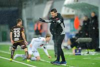 Fotball , Eliteserien<br /> 28.12.2020 , 20201228<br /> Mjøndalen - Sogndal<br /> Sogndals trener , Eirik Bakke <br /> Foto: Sjur Stølen / Digitalsport