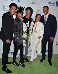 Trey Smith, Willow Smith, Jaden Smith, Jada Pinkett Smith and Will Smith attend the 26th Annual EMA Awards at Warner Bros. Studios on October 22, 2016 in Burbank, Los Angeles, CA, USA. Photo by Lionel Hahn/ABACAPRESS.COM