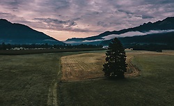 THEMENBILD - Sonnenaufgang im Pinzgau, aufgenommen am 23. September 2019 in Kaprun, Oesterreich // Sunrise in Pinzgau in Kaprun, Austria on 2019/09/23. EXPA Pictures © 2019, PhotoCredit: EXPA/ JFK
