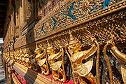 Wat Phra Kaew (commonly known in English as the Temple of the Emerald Buddha and officially as Wat Phra Si Rattana Satsadaram) is regarded as the most sacred Buddhist temple in Thailand.