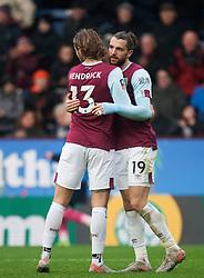Jay Rodriguez of Burnley (R) celebrates scoring his sides fourth goal - Mandatory by-line: Jack Phillips/JMP - 04/01/2020 - FOOTBALL - Turf Moor - Burnley, England - Burnley v Peterborough United - English FA Cup