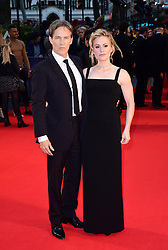 Stephen Moyer and Anna Paquin attending the Closing Gala and International premiere of The Irishman, held as part of the BFI London Film Festival 2019, London.