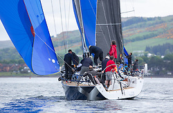 Day1, El Gran Senor, J122E, 4822R, CCC<br /> <br /> The Scottish Series, hosted by the Clyde Cruising Club is an annual series of races for sailing yachts held each spring. Normally held in Loch Fyne the event moved to three Clyde locations due to current restrictions. <br /> <br /> Light winds did not deter the racing taking place at East Patch, Inverkip and off Largs over the bank holiday weekend 28-30 May. <br /> <br /> Image Credit : Marc Turner / CCC