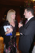 Debbie Moore. 'Dirty politics, Dirty times: My fight with Wapping and New Labour' by Michael Ashcroft. Book launch party in aid of Crimestoppers. Riverbank Plaza Hotel. London SE1.      October 10 2005. ONE TIME USE ONLY - DO NOT ARCHIVE © Copyright Photograph by Dafydd Jones 66 Stockwell Park Rd. London SW9 0DA Tel 020 7733 0108 www.dafjones.com