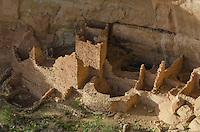 Square Tower House ruins, Mesa Verde National Park, Colorado