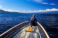 Indonesia, Sulawesi, Bunaken. On the way back to Manado from Bunaken.