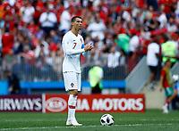 Cristiano Ronaldo (Portugal)<br /> Moscow 20-06-2018 Football FIFA World Cup Russia  2018 <br /> Portugal - Morocco / Portogallo - Marocco <br /> Foto Matteo Ciambelli/Insidefoto