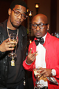 """l to r: Kid Cudi and O'neal Mcknight at """" The Ultimate Prom"""" presented by Universal Motown and Mypromstyle.com held at Pier 60 at Chelsea Piers in New York City."""