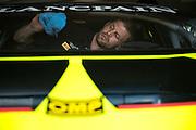 June 25 - 27, 2015: Lamborghini Super Trofeo Round 2-3, Watkins Glen NY. O'Gara Motorsport mechanic