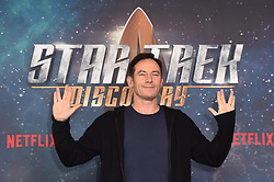 Jason Isaacs attending a Star Trek: Discovery fan screening at Millbank Tower in London.