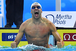 December 13, 2018 - Hangzhou, Cina - Foto Gian Mattia D'Alberto / LaPresse.13-12-2018 Hangzhou (Cina).Sport nuoto.14mi Campionati Mondiali di nuoto FINA (25mt).nella foto: Chad Le Clos RSA, oro 200 farfalla..Photo Gian Mattia D'Alberto / LaPresse.2018-12-13 Hangzhou (China).14th FINA world swimming championship (25mt).In the photo: ,Chad Le Clos RSA, 200 fly gold medal (Credit Image: © Gian Mattia D'Alberto/Lapresse via ZUMA Press)
