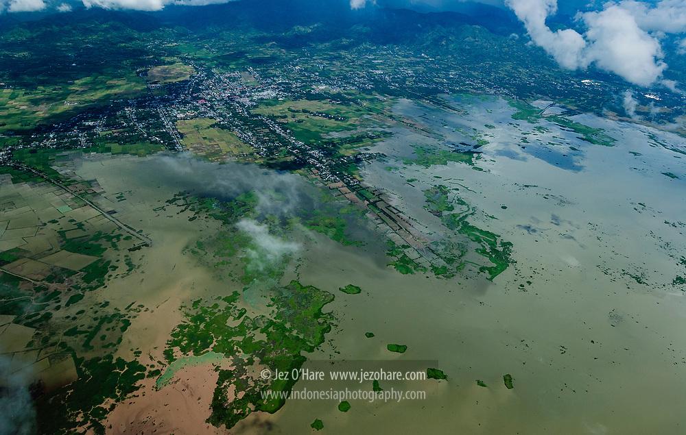 Lake Limboto, Gorontalo, Sulawesi, Indonesia.