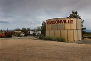 "Pearsonville is in Inyo County, California. The population was 17 at the 2010 census.<br /> Years ago, Pearsonville had been dubbed the ""Hubcap Capital of the World,"" because of former resident Lucy Pearson's collection of hubcaps, which were rumored to number over 80,000."