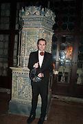 MILOVAN FARRONATO, Andrea Dibelius of the EMDASH Foundation hosts party to celebrate the Austrian Pavilion and artist Mathias Poledna at the Venice Biennale. Palazzo Barbaro, Venice. 30 May 2013<br /> <br /> <br /> Venice. Venice Bienalle. 28 May 2013