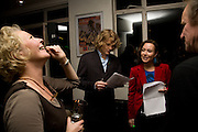 Stella Gonet; julian Rhind-Tutt; Amanda Mealing;; Amnesty International launch of We Are All Born Free Ð The Universal Declaration of Human Rights in pictures for children  - and the world premiere of the short film Everybody plus exhibition of illustrations from the book. Waterstone's.  London. 27 October 2008.  *** Local Caption *** -DO NOT ARCHIVE-© Copyright Photograph by Dafydd Jones. 248 Clapham Rd. London SW9 0PZ. Tel 0207 820 0771. www.dafjones.com.