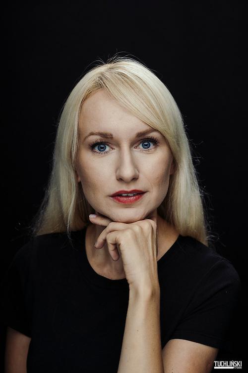 Warszawa, Polska 10.09.2019<br /> Monika Sobień dziennikarka <br /> Fot. Adam Tuchlinski