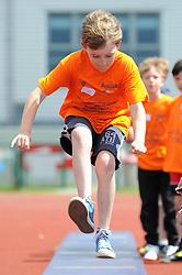 Children practise their Long Jump - Photo mandatory by-line: Dougie Allward/JMP - Mobile: 07966 386802 - 06/06/2015 - SPORT - Multi-Sport - Bristol - SGS Wise Campus - Bristol Sport Festival Of Youth Sport - Festival Of Youth