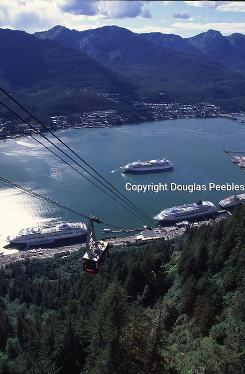 View from aerial tram, Juneau, Alaska<br />