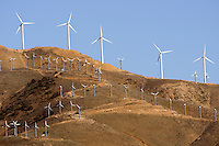 Wind Turbines, western edge of the Mojave desert.