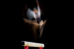August 2, 2018 - Glasgow, UNITED KINGDOM - 180802 Tutya Yilmaz of Turkey competes at the beam in the women's qualification of Artistic Gymnastics during the European Championships on August 2, 2018 in Glasgow..Photo: Jon Olav Nesvold / BILDBYRÃ…N / kod JE / 160280 (Credit Image: © Jon Olav Nesvold/Bildbyran via ZUMA Press)