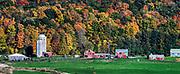 Charming autumn farm, Middlebury, Vermont, USA.