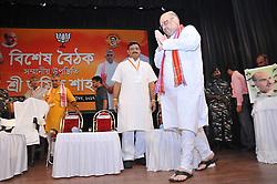 September 11, 2017 - Kolkata, India - BJP Chief Amit Shah ,during special convention in Kolkata on Sep 11, 2017. (Credit Image: © Debajyoti Chakraborty/NurPhoto via ZUMA Press)