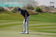 Johannes Veerman (USA) on the 9th during Round 3 of the Oman Open 2020 at the Al Mouj Golf Club, Muscat, Oman . 29/02/2020<br /> Picture: Golffile | Thos Caffrey<br /> <br /> <br /> All photo usage must carry mandatory copyright credit (© Golffile | Thos Caffrey)