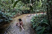 """Les peuples originaires d'Amazonie, ont une vision holistique de la Pachamama:<br /> <br /> «Il ne s'agit pas d'une relation simplement paysagère ou esthétique, mais de l'incarnation dans nos corps, nos coeurs et nos pensées, des actes vitaux de chacun des êtres vivants qui nous entourent. Nous nous fondons sur l'existence des Sacha runakuna ou habitants de la forêt, visibles et invisibles, organisons nos relations réciproques, définissons et mettons en pratique le Sumak Kawsay (la vie en harmonie).»<br /> <br /> The native peoples of the Amazon have a holistic vision of the Pachamama:<br /> <br /> """"It is not simply a landscape or aesthetic relationship, but the incarnation in our bodies, hearts and thoughts of the vital acts of each of the living beings around us. We base ourselves on the existence of the Sacha runakuna or inhabitants of the forest, visible and invisible, organize our reciprocal relationships, define and put into practice Sumak Kawsay (life in harmony).»"""