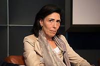 """13 JUN 2012, BERLIN/GERMANY:<br /> Eva-Maria Michel (M), stellv. Intendantin und Justiziarin, WDR,<br /> Diskussionsveranstaltung """"Neue Prespektiven im Urheberrecht"""", Verband Privater Rundfunk und Telemedien e.V., vprt, Bertelsmann-Repräsentanz<br /> IMAGE: 20120613-01-245"""
