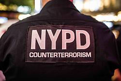 July 31, 2017 - New York City, New York, United States of America - NYPD counterrorism unit (Credit Image: © Sachelle Babbar via ZUMA Wire)