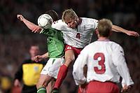 Fotball. Landskamp. Treningskamp. Privatlandskamp.<br /> Irland v Danmark. 27.03.2002.<br /> Martin Laursen, Danmark.<br /> Foto: Jean-Marie Hervio, Digitalsport