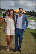 LYDIA BARLOW; HUGO CORDLE, 2004 Veuve Clicquot Gold Cup Final at Cowdray Park Polo Club, Midhurst. 20 July 2014