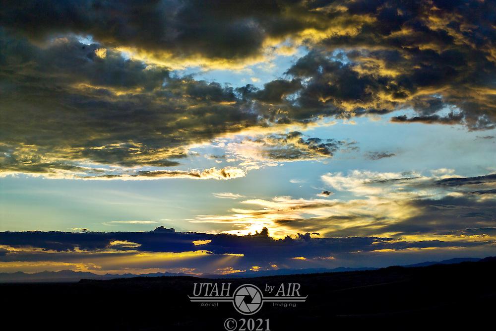 Sunset at Little Sahara Utah