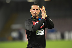 October 28, 2018 - Naples, Naples, Italy - Marek Hamsik of SSC Napoli during the Serie A TIM match between SSC Napoli and AS Roma at Stadio San Paolo Naples Italy on 28 October 2018. (Credit Image: © Franco Romano/NurPhoto via ZUMA Press)