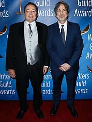 2019 Writers Guild Awards L.A. Ceremony held at The Beverly Hilton Hotel on February 17, 2019 in Beverly Hills, Los Angeles, California, United States. 17 Feb 2019 Pictured: Bobby Farrelly, Peter Farrelly. Photo credit: Xavier Collin/Image Press Agency / MEGA TheMegaAgency.com +1 888 505 6342