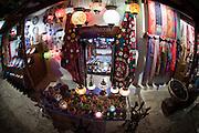 Turkey, Antalya Province, Kas the market a souvenir shop
