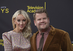 September 14, 2019, Los Angeles, California, United States of America: James Corden and Julia Carey at the red carpet of the 2019 Creative Arts Emmy Awards on Saturday September 14, 2019 at the Microsoft Theater in Los Angeles, California. JAVIER ROJAS/PI (Credit Image: © Prensa Internacional via ZUMA Wire)