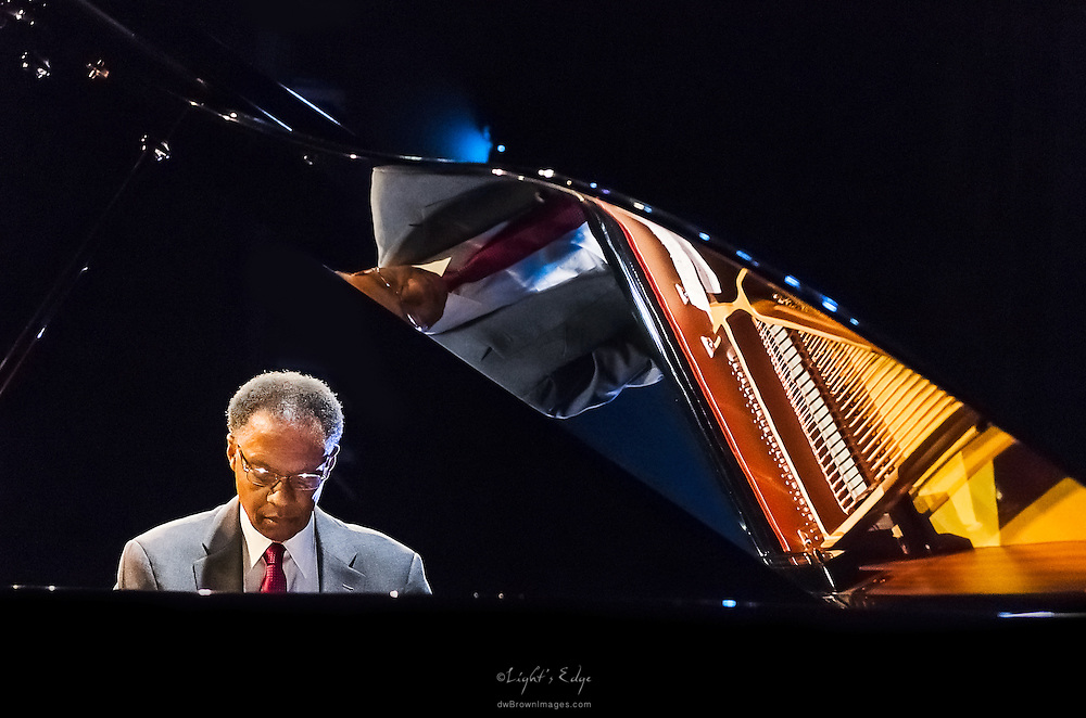 Ramsey Lewis during his show at SOPAC in South Orange, NJ.