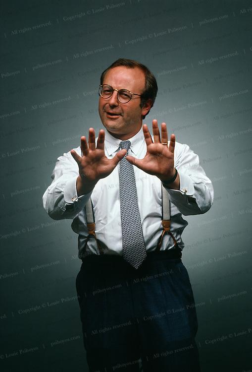 Jeffrey Beck, managing director of Drexel Burnham Lambert  NYC June 1986