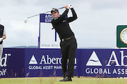The Aberdeen Asset Management Scottish Open Golf Championship 2012 At Castle Stuart Golf Links..3rd Round Saturday 14-07-12.. .   World NUmber One Luke Domald   on the first  , during the 3rd Round of The Aberdeen Asset Management Scottish Open Golf Championship 2012 At Castle Stuart Golf Links. The event is part of the European Tour Order of Merit and the Race to Dubai....At Castle Stuart Golf Links, Inverness, Scotland...Picture Mark Davison/ ProLens PhotoAgency/ PLPA.Saturday 14th July 2012.