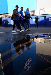 Everton fans arrive at Goodison Park for the Premier League fixture against Watford - Mandatory by-line: Robbie Stephenson/JMP - 05/11/2017 - FOOTBALL - Goodison Park - Liverpool, England - Everton v Watford - Premier League