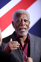 File photo - Morgan Freeman attends the premiere of London Has Fallen at the Arclight Cinemas in Los Angeles, CA, USA, on March 1, 2016. US film star Morgan Freeman has apologised following allegations of sexual misconduct made by eight women and several other people. One production assistant accused Freeman of harassing her for months during filming of bank robbery comedy Going in Style, CNN reported. She said the 80-year-old touched her repeatedly, tried to lift her skirt and asked if she was wearing underwear. Photo by Lionel Hahn/ABACAPRESS.COM