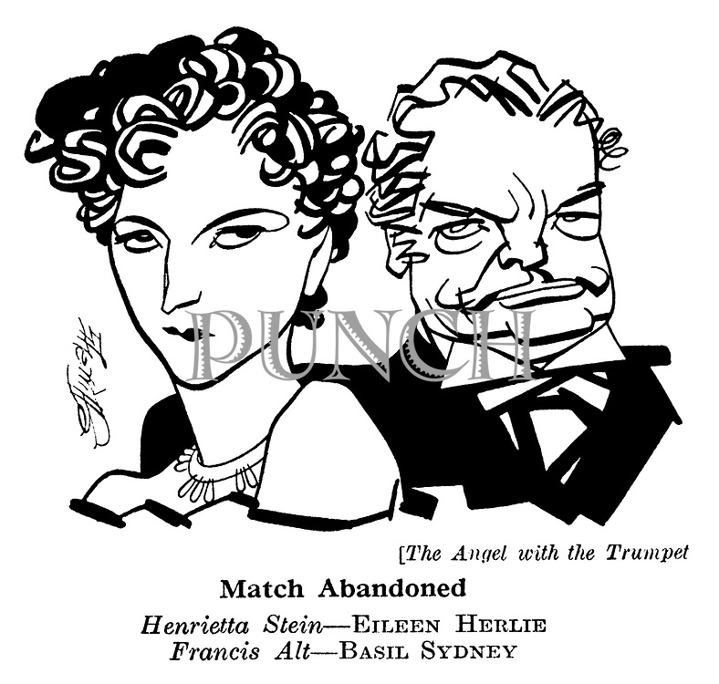 The Angel with the Trumpet ; Basil Sydney and Eileen Herlie