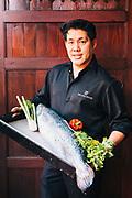 Chef Amporn at 137 Pillar's House hotel, Chiang Mai