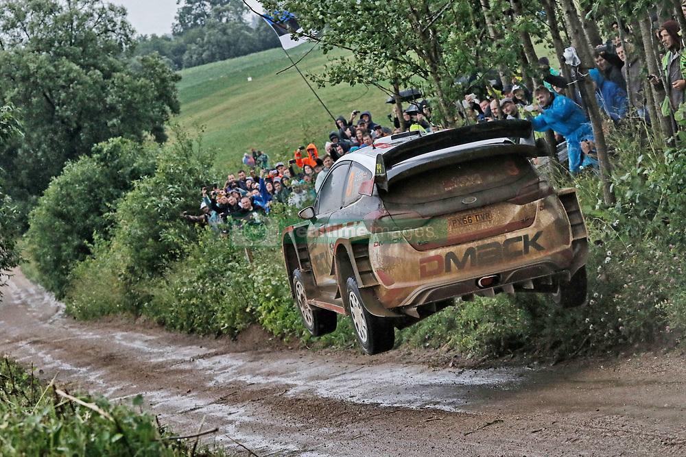 June 30, 2017 - Mikolajki, Mazurie, Pologne - Elfyn Evans. Daniel Barritt (Credit Image: © Panoramic via ZUMA Press)