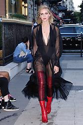 Chiara Ferragni attending the Fendi 2017/18 Fall Winter Haute Couture show in Paris, France on July 05, 2017. Photo by Aurore Marechal/ABACAPRESS.COM    599056_010 Paris France
