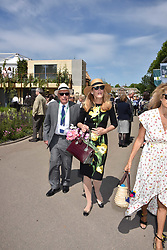 Rupert Murdoch and Jerry Hall at the RHS Chelsea Flower Show Press Day, Royal Hospital Chelsea, London England. 22 May 2017.<br /> Photo by Dominic O'Neill/SilverHub 0203 174 1069 sales@silverhubmedia.com