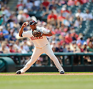 Andy Marte of Cleveland..The Minnesota Twins defeated the Cleveland Indians 4-2 on Sunday, July 27, 2008 at Progressive Field in Cleveland.